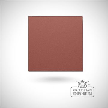 "Plain 6"" square floor tile - choice of 14 colours"