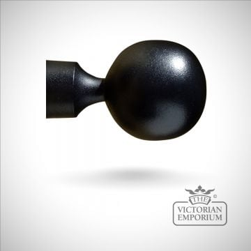 Wrought iron ball finial