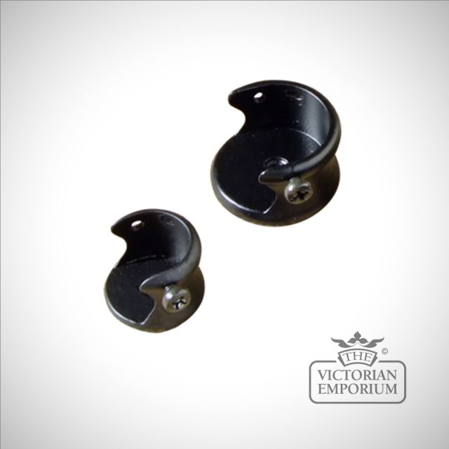 Wrought iron recess bracket
