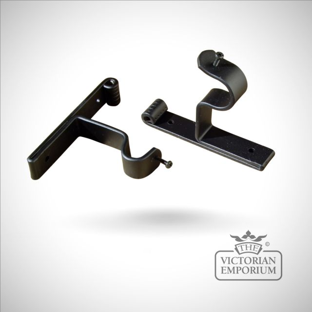 Wrought iron end bracket