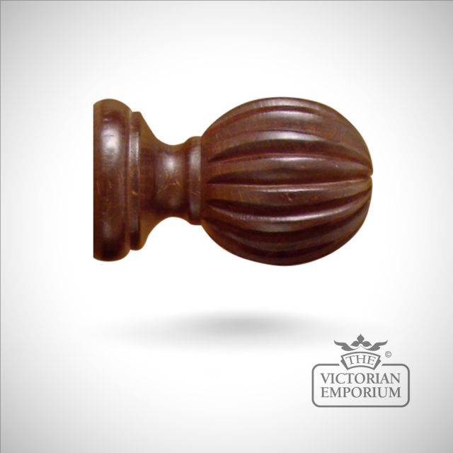 Royale Dorney curtain finial in choice of 5 finishes