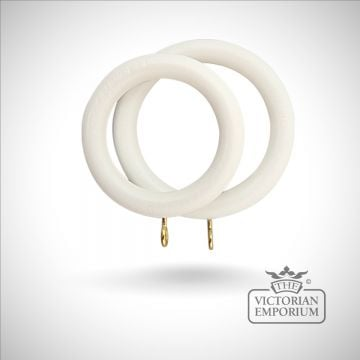Royale curtain rings in a choice of 5 finishes