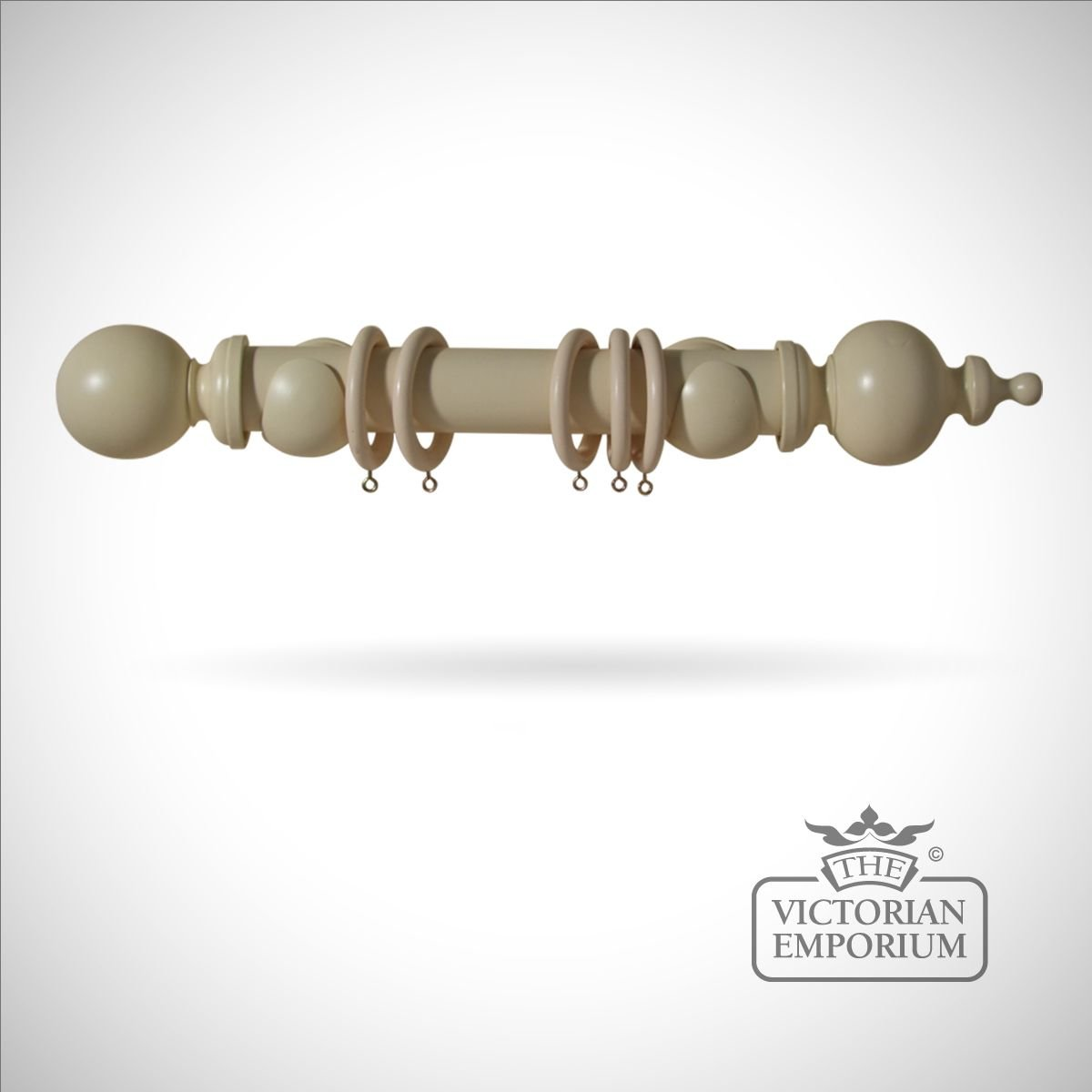 Masquerade Curtain Pole Without Finials Or Brackets