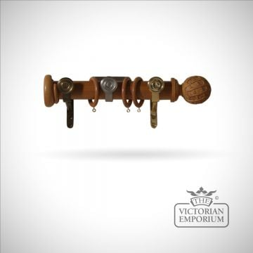 Masquerade curtain pole (without finials or brackets)
