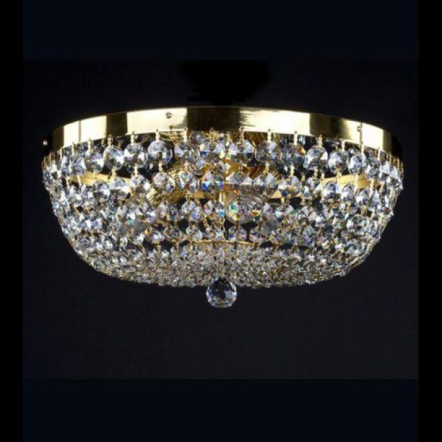 Gina elegant basket chandelier