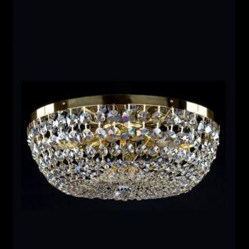Gina medium basket chandelier
