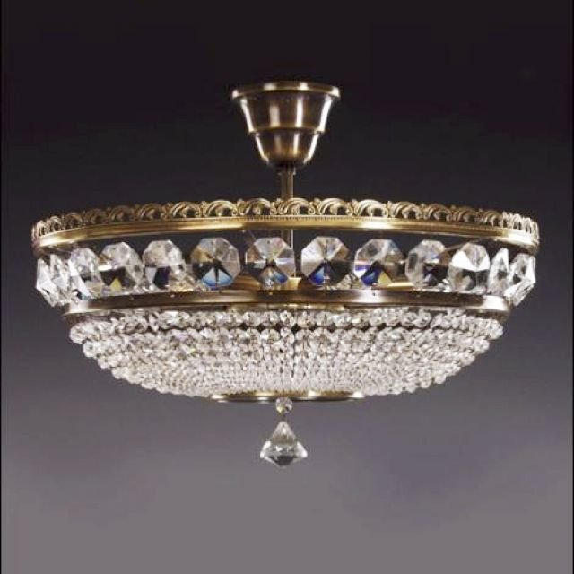 Very ornate basket chandelier