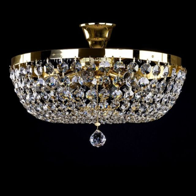 Classic medium sized basket chandelier