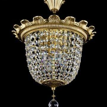 Arteme stunning basket chandelier