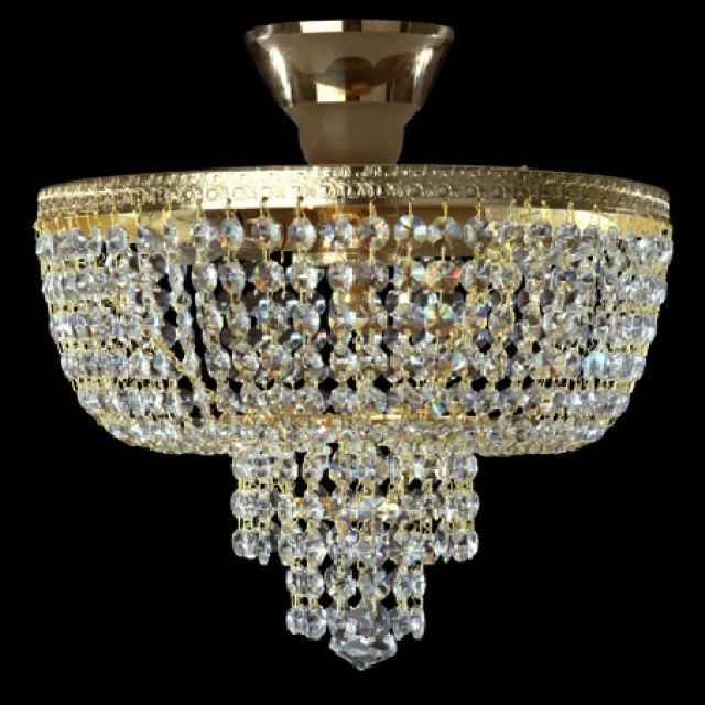 Beautiful tiered basket chandelier