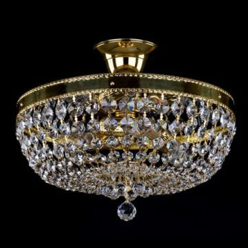 Berta basket chandelier