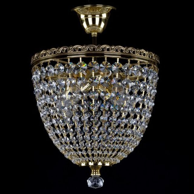 Shellie tall basket chandelier