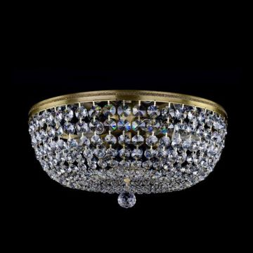 Gina LP small basket chandelier