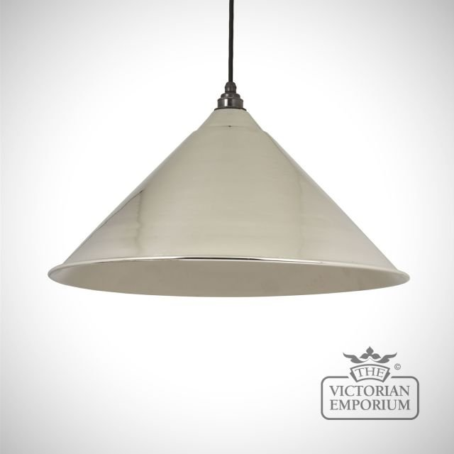 Hockliffe pendant in smooth nickel