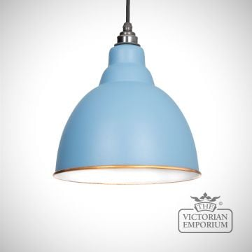 Brindle pendant in Pale Blue