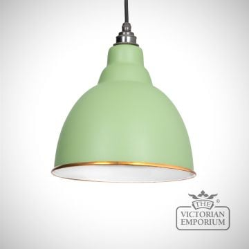 Brindle pendant in Sage Green