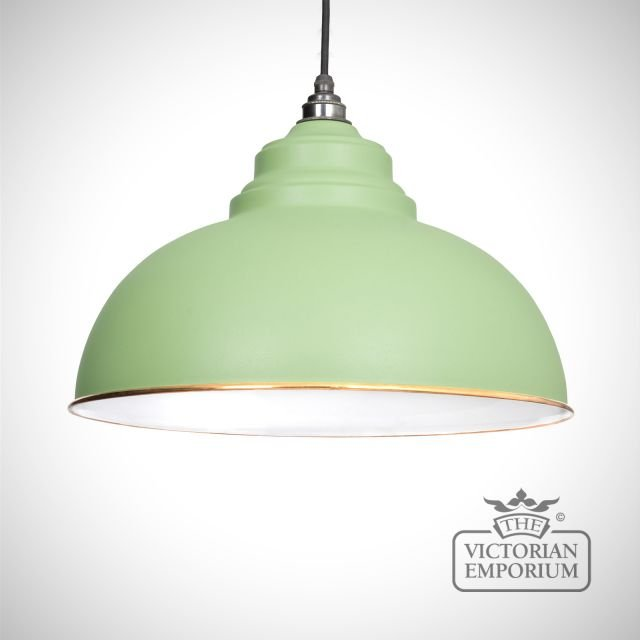 Harlow pendant in Sage Green