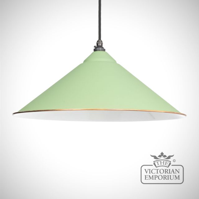 Yardly pendant in Sage Green