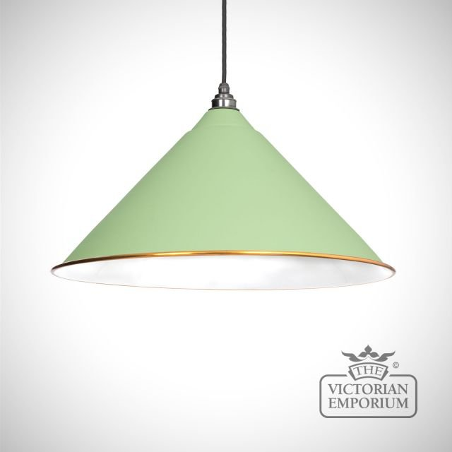 Hockliffe pendant in Sage Green