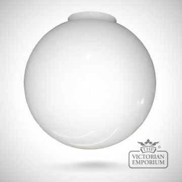Flashed opal spherical shade in a choice of sizes