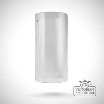 Glass cylinders in clear or etched glass