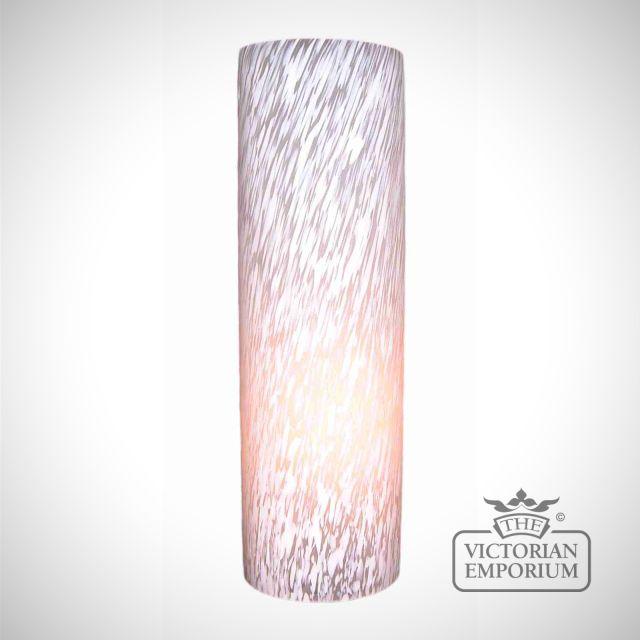 Flakestone glass cylinder