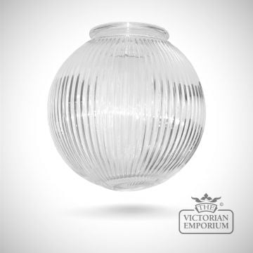 Prismatics globe shade in a choice of sizes