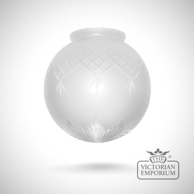 Pineapple globe shade in a choice of sizes
