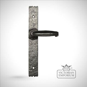 Traditional cast door furniture door handles old classical victorian decorative reclaimed-ve2463b