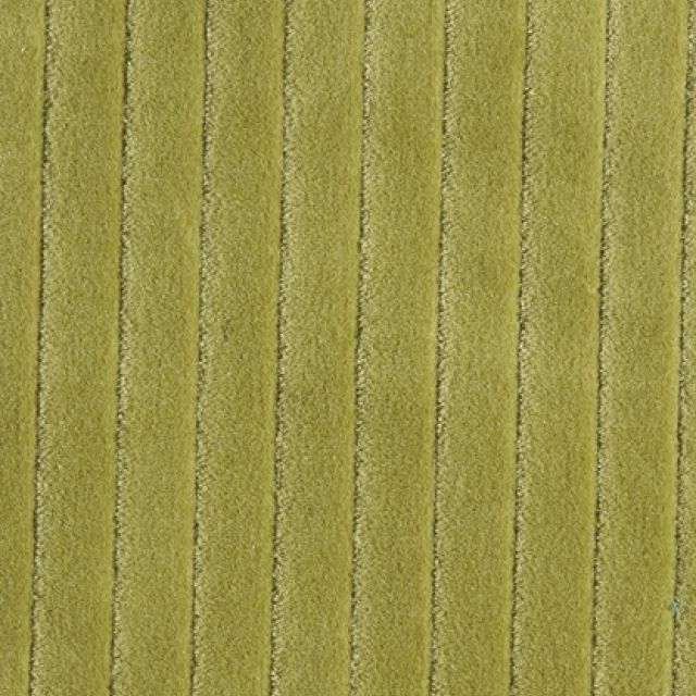 Stripe texture velvet - lime