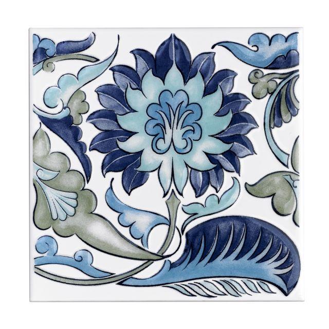 V&A Collection William de Morgan Decor Tile