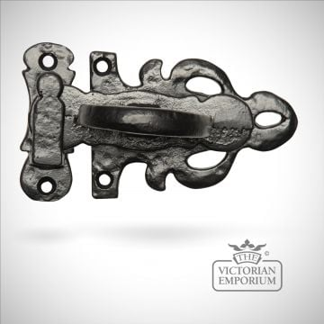 Black iron elegant casement fastener