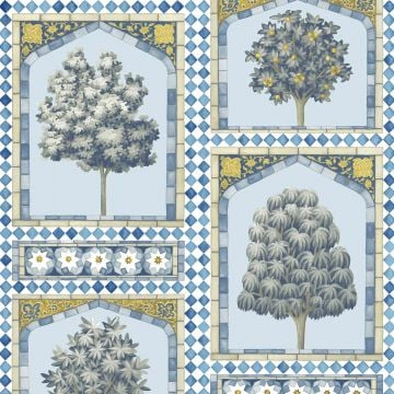 Sultans palace wallpaper in a choice of three colourways