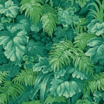 Fernery wallpaper in a choice of two colourways