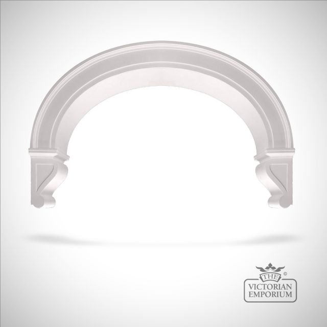 Victorian Plaster Arch