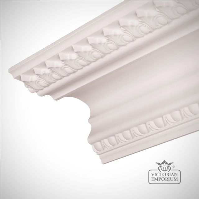 Victorian coving - Enriched Egg and Dart