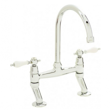 Isle Bridge Mixer Kitchen Tap