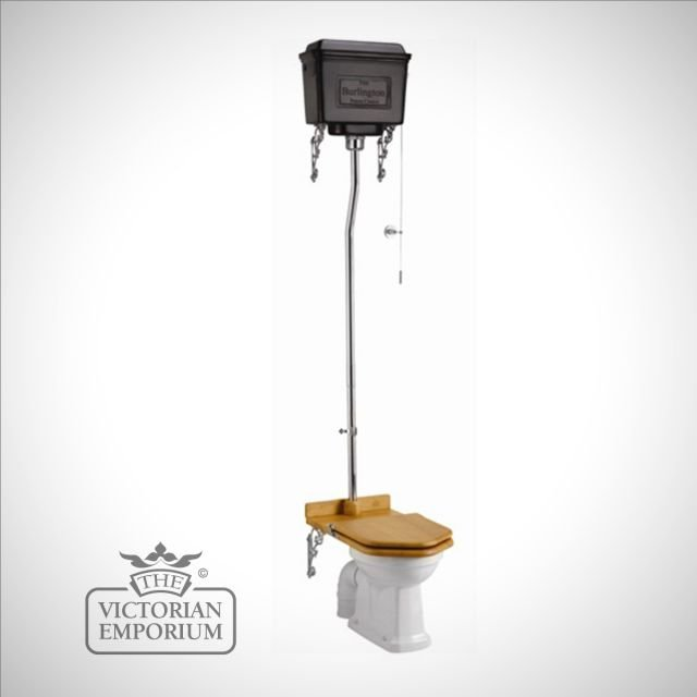 Metal retro cistern High Level WC Suite