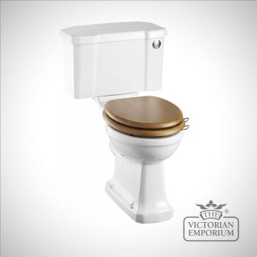 Classic Narrow Rimless Close Coupled WC