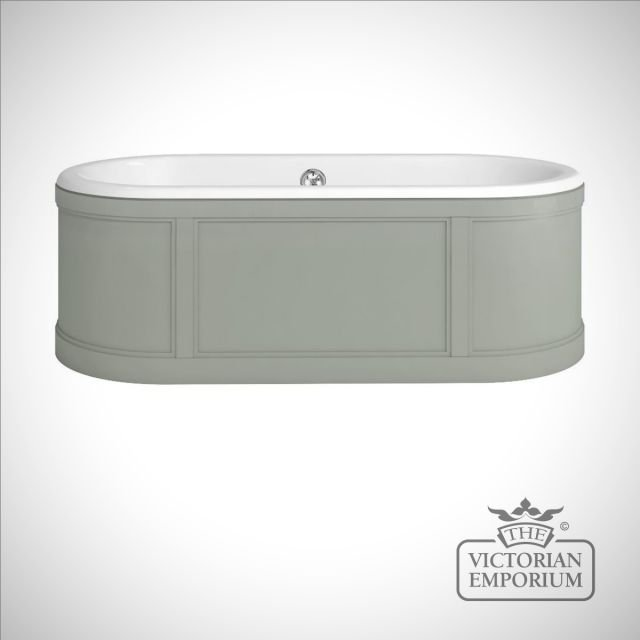 London Bath with surround