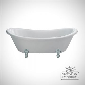 Bateau double ended bath