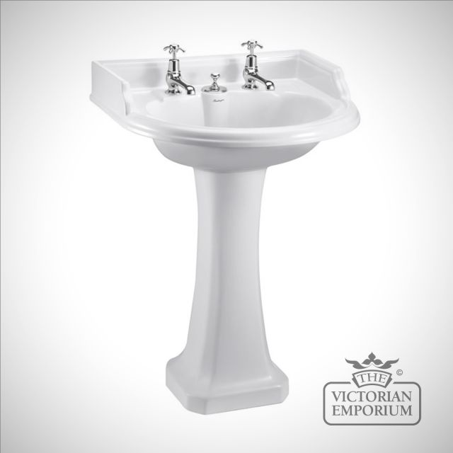 Round Basin and Pedestal