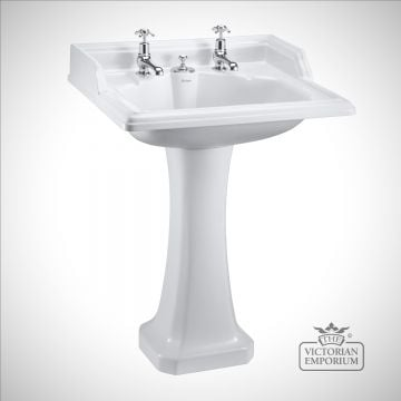 Classic 65cm basin with Classic standard pedestal