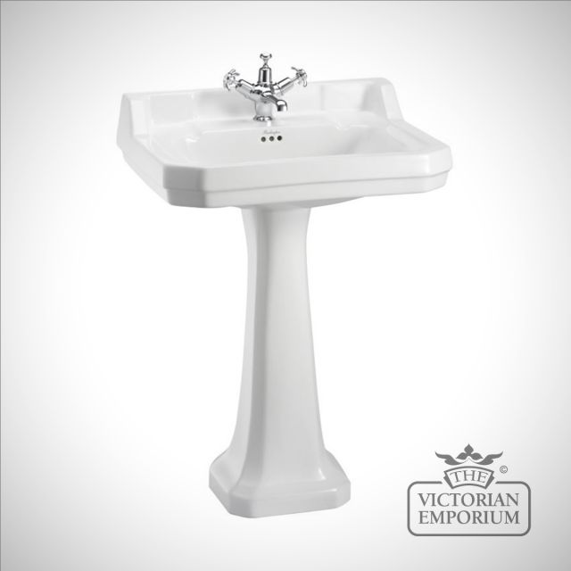 Classic Edwardian Basin and Pedestal in a choice of sizes