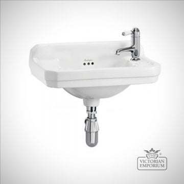 Classic Edwardian rectangular cloakroom basin