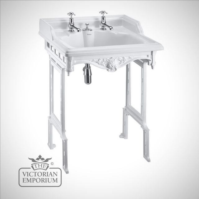Classic 65cm Basin with invisible overflow in Washstand in a choice of finishes