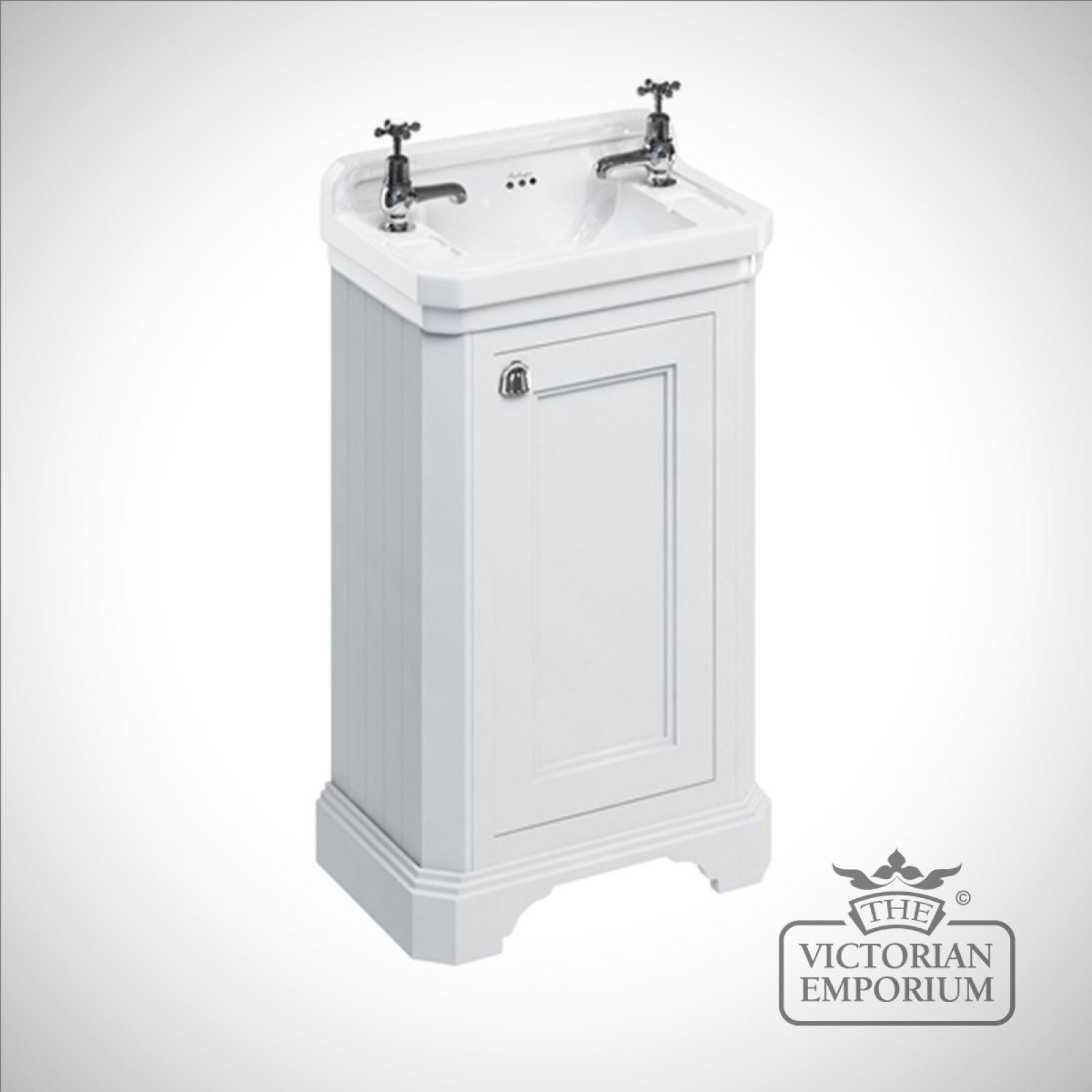 edwardian cloakroom basin unit with door basins. Black Bedroom Furniture Sets. Home Design Ideas