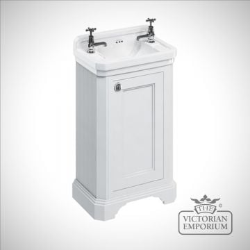 Edwardian Cloakroom basin unit with door