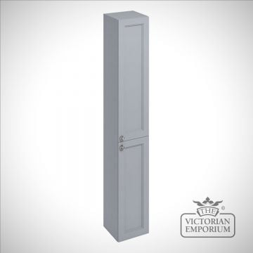 Tall bathroom fitted base unit in a choice of colours