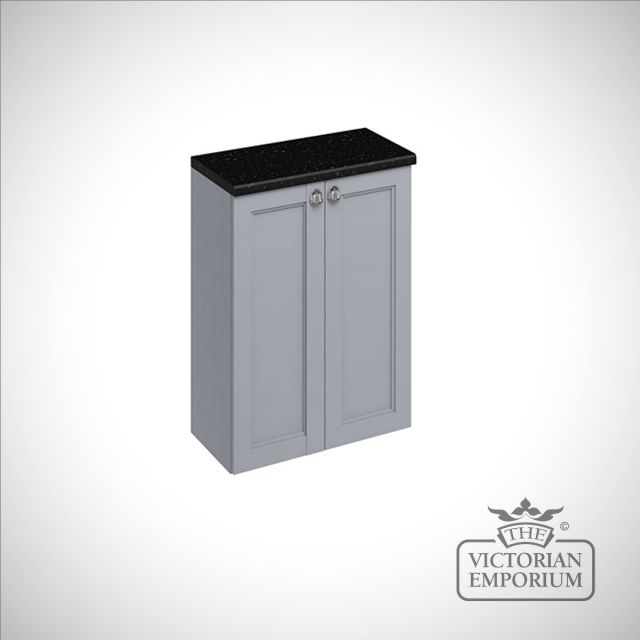 60cm wide double door fitted base unit in a choice of colours